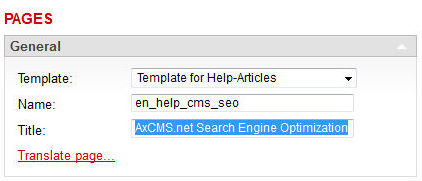 Optimize Search Engine Ranking with Page Title